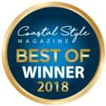 Coastal Style Magazine Winner Best of 2018